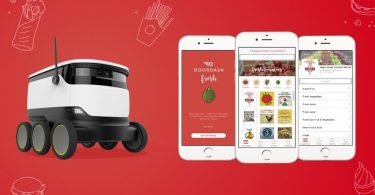 Doordash Automated Food Delivery