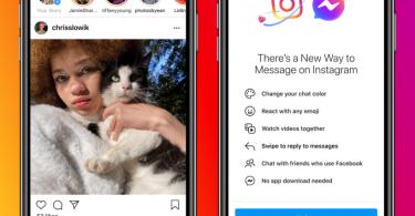 fb messenger and instagram merge